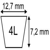 Goupille clips 5 x 21 mm origine Rabewerk