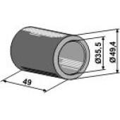 Bague en pvc diamètre 35,5 mm