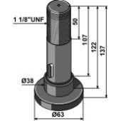 Piton SCHULTE adaptable – 251-016