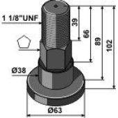Piton SCHULTE adaptable – 251-019