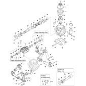 Rondelle diamètre 68x55x6 pour pompe de pulvérisation COMET BP 110 (25)