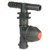 Monojet droit pour tuyau souple avec anti goutte