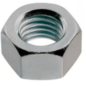 Ecrou hexagonal Zn 8.8 DIN 934  M24  ( boite de 25 )