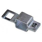 Collier métal fixation porte buse carré de 25 mm